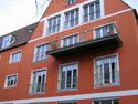 Postgebäude Nürnberg, Hallerstr. | abgehänger Balkon
