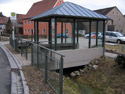 Dorferneuerung Seigendorf | Buswartehäuschen