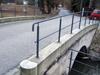 Geländer auf Brücke
